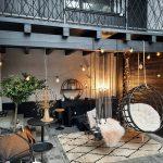Deco und Design Innenhof