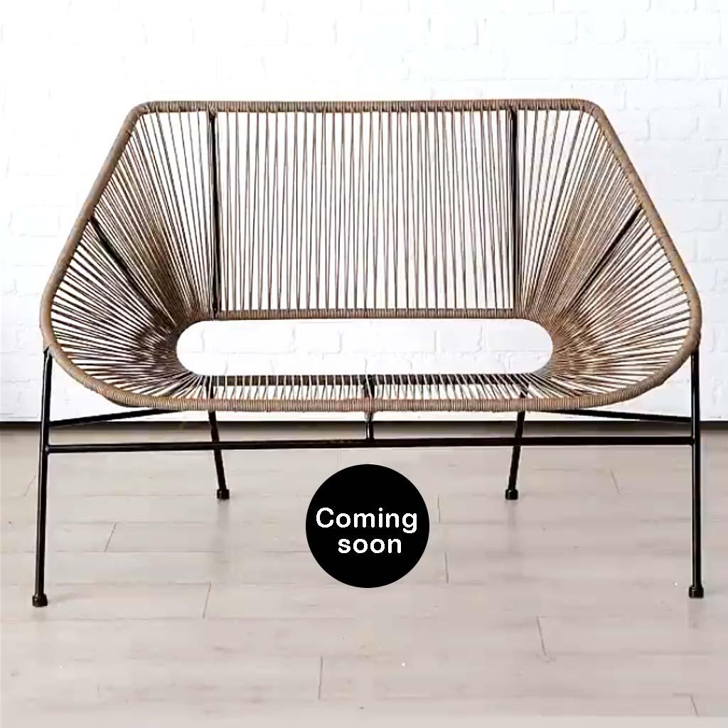Deco & Design Lounge Bank beige